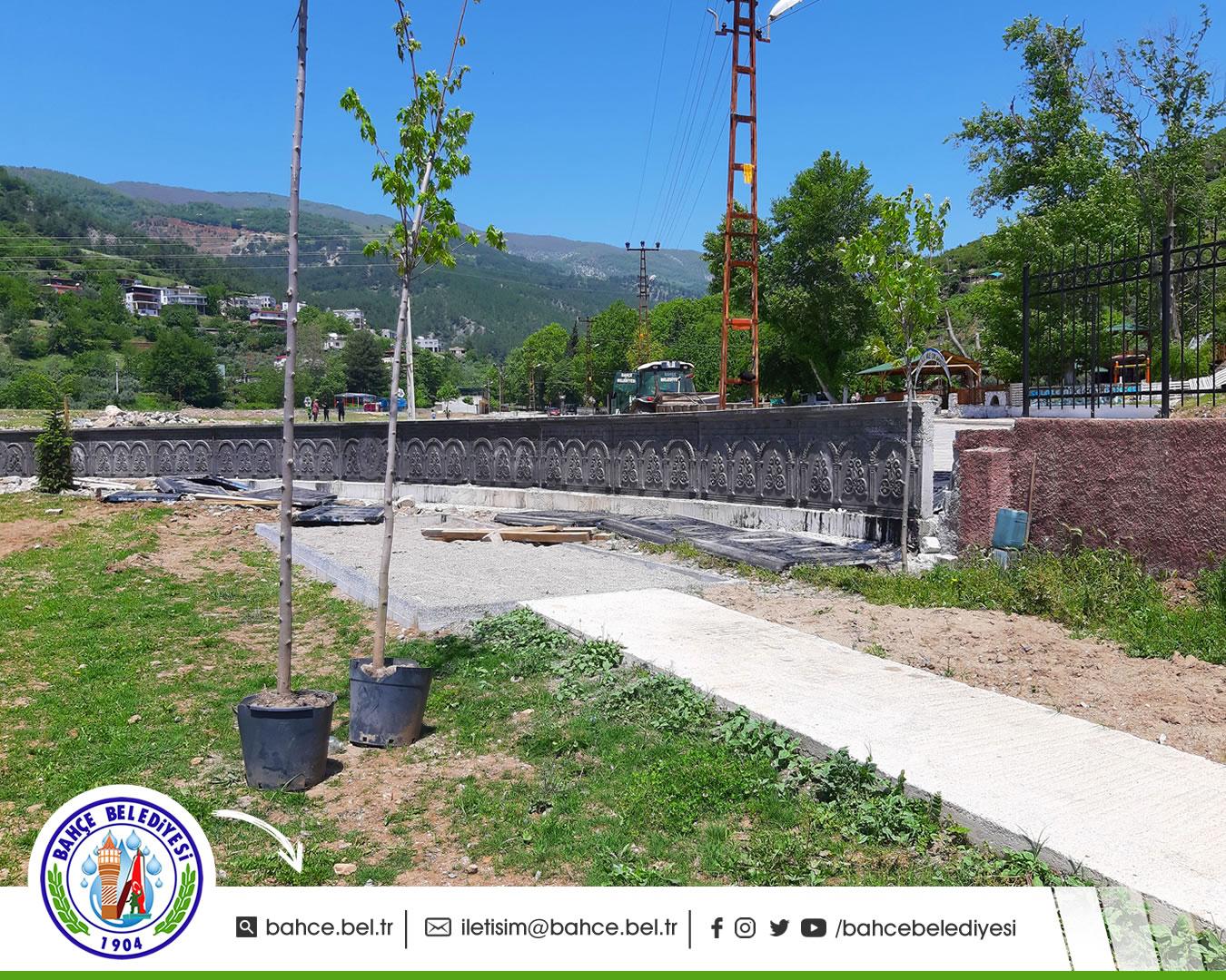 Bahçe Şehir Stadı Yenilendi - Bahçe Belediyesi