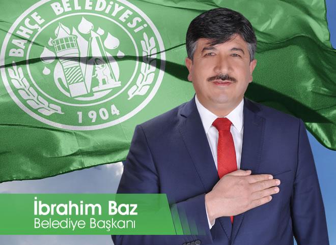 Bahçe Belediye Başkanı İbrahim Baz