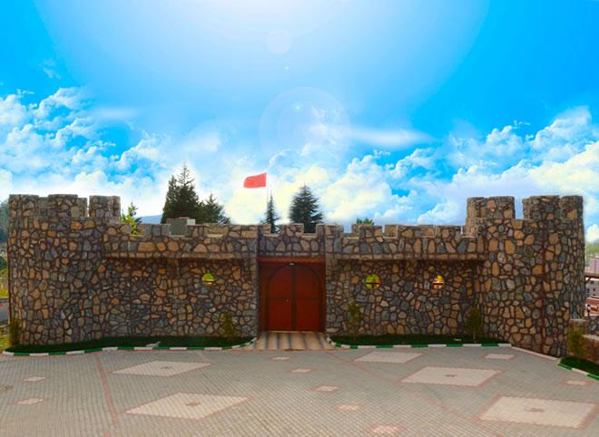 osmaniye bahçe kale